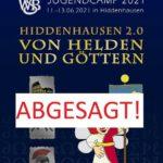 JUGENDCAMP 2021 in Hiddenhausen – ABGESAGT!