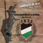 Einladung zum Schützenbiergarten in den Parkanlagen des Stadtpark Schützenhof am 14. August 2021